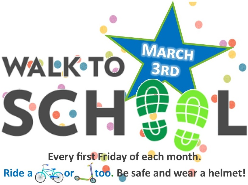 Walk to School March 3