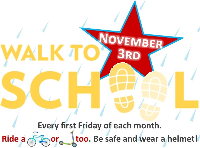 Walk to School November 3