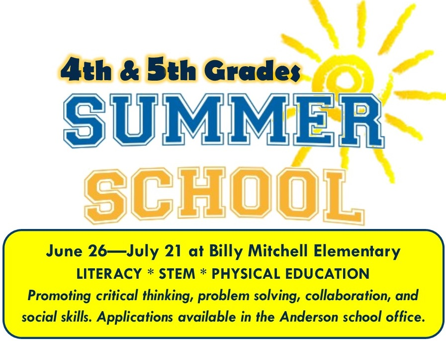 4th   5th Grade Summer School