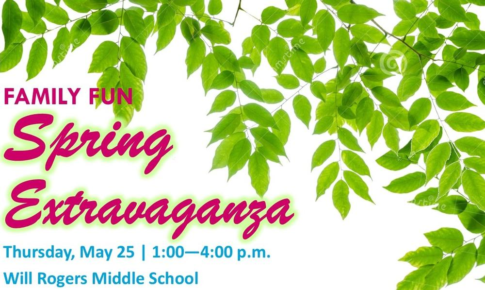 Spring Extravaganza May 25