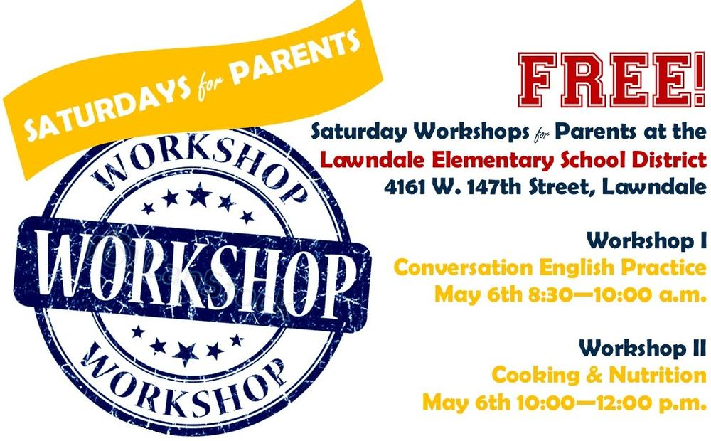 Saturday Workshops for Parents